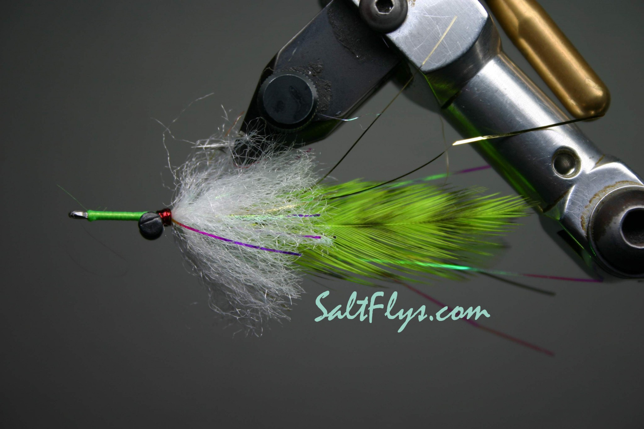 Bay Whistler Fly Chatreuse Griz