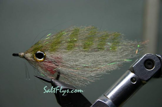 EP Fiber-Backwater Baitfish Deceiver Fly