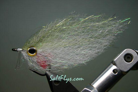 EP SE Fiber Baitfish Olive Deceiver Fly