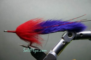 Purple Death Tarpon Bunny Fly