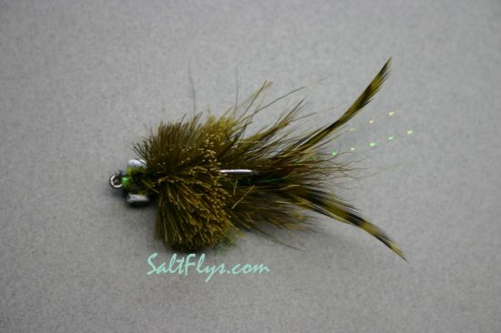 Redfish Joe Fly Olive-Top