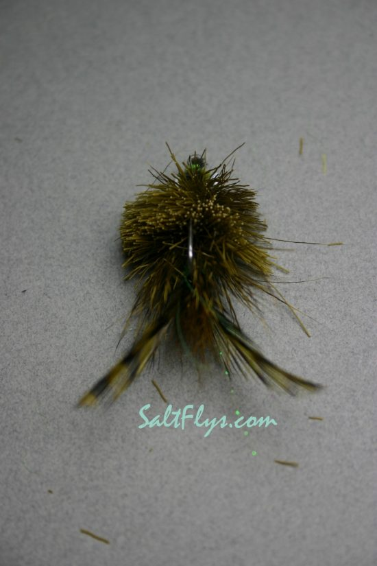 Redfish Joe Fly Olive-back