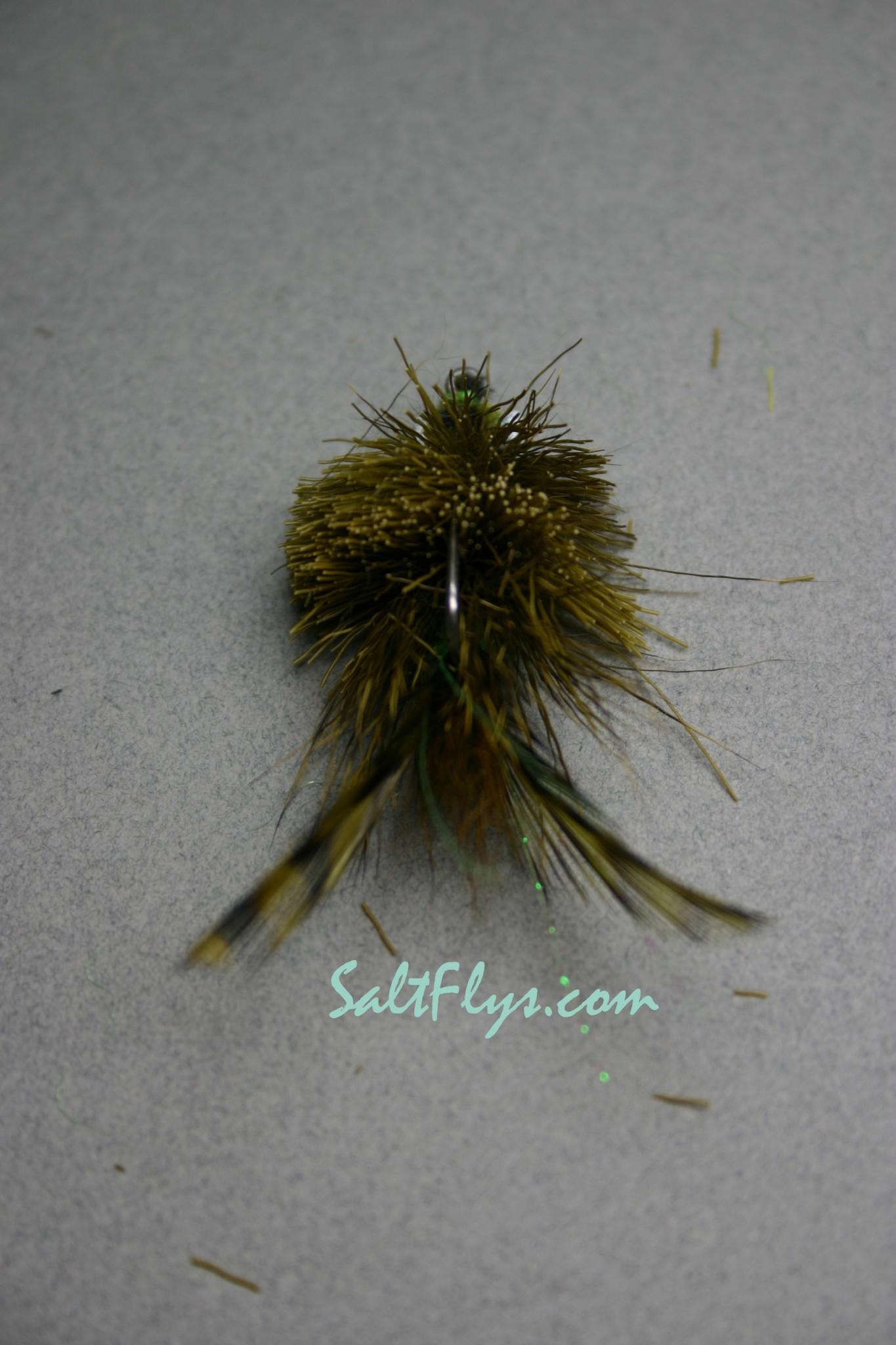 Redfish Joe Fly Olive-back