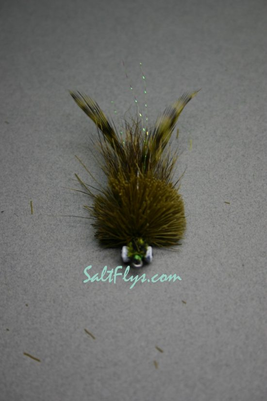 Redfish Joe Fly Olive-front