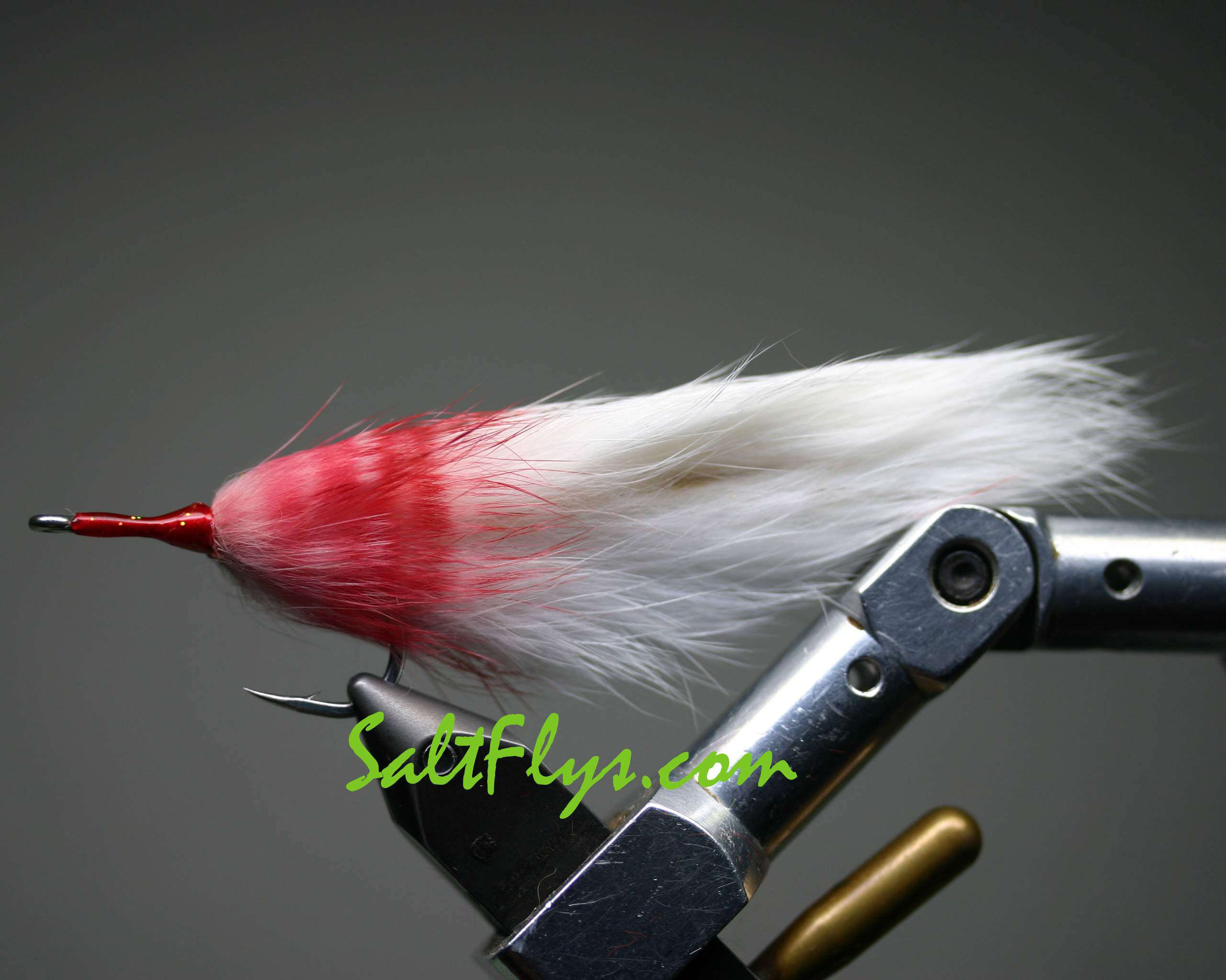 White Death Tarpon Double Bunny Fly