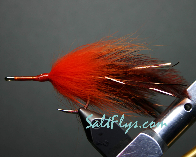 Brown & Orange Tarpon Fly