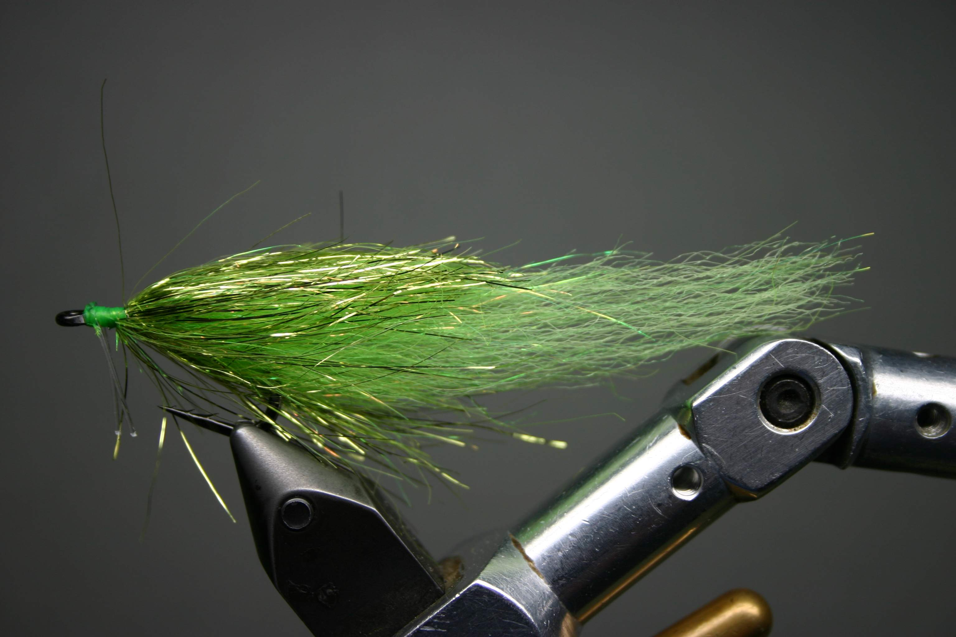 Chartreuse Boat Tail Minnow Fly