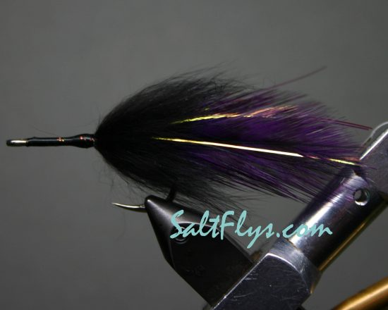 Purple & Black Tarpon Fly