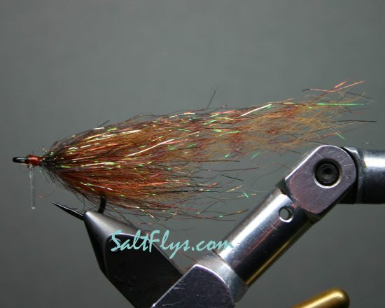 Rootbeer Boat Tail Minnow Fly