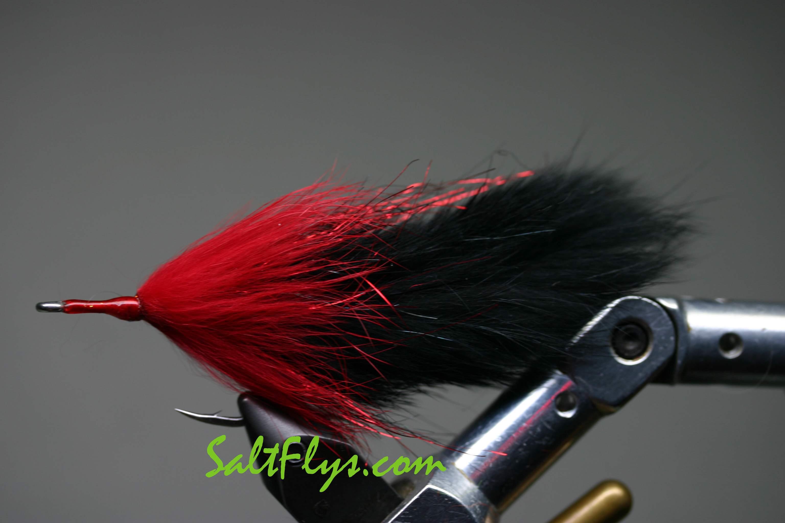Black Death Tarpon Double Bunny Fly
