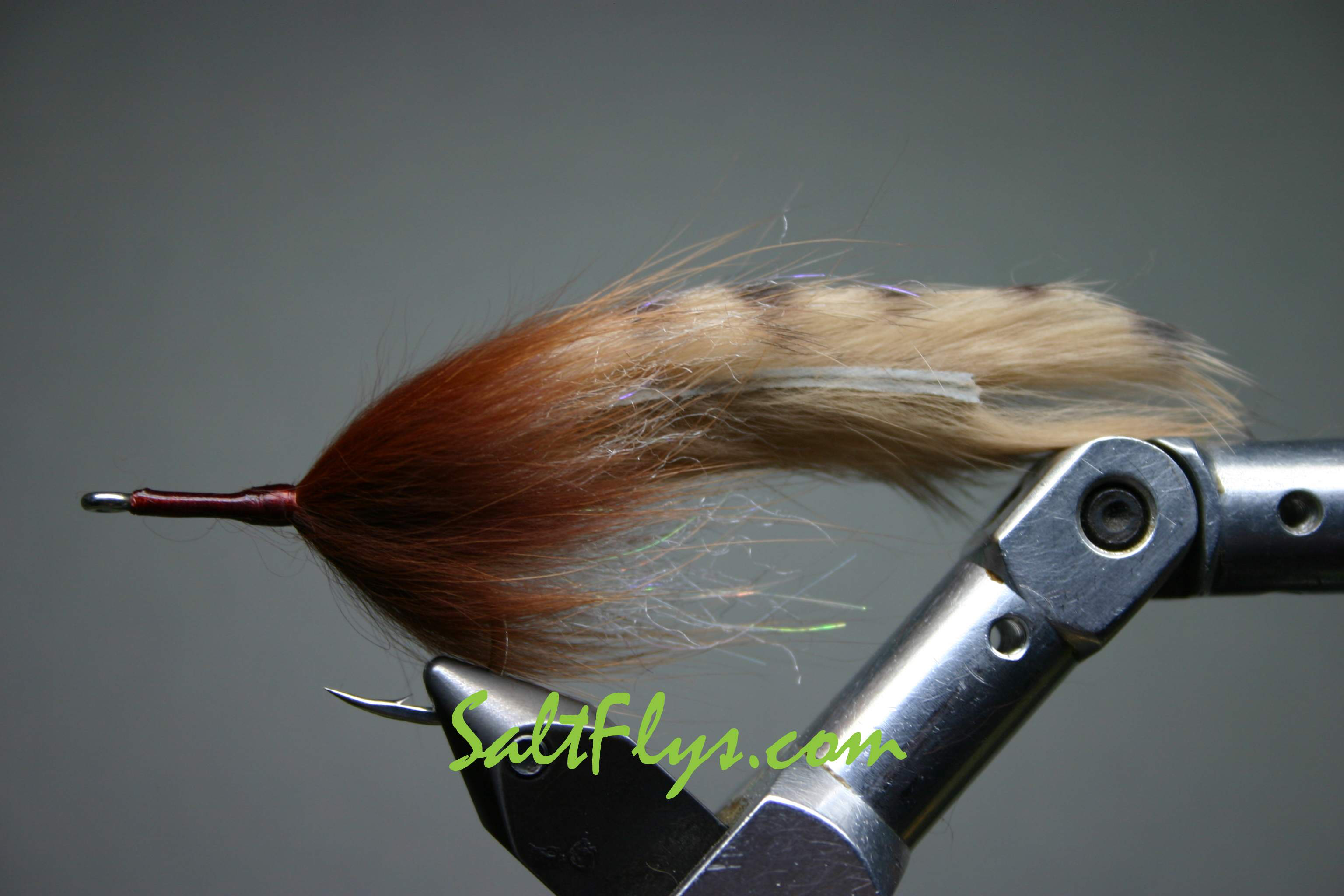 Tawny Tiger Double Bunny Tarpon Fly