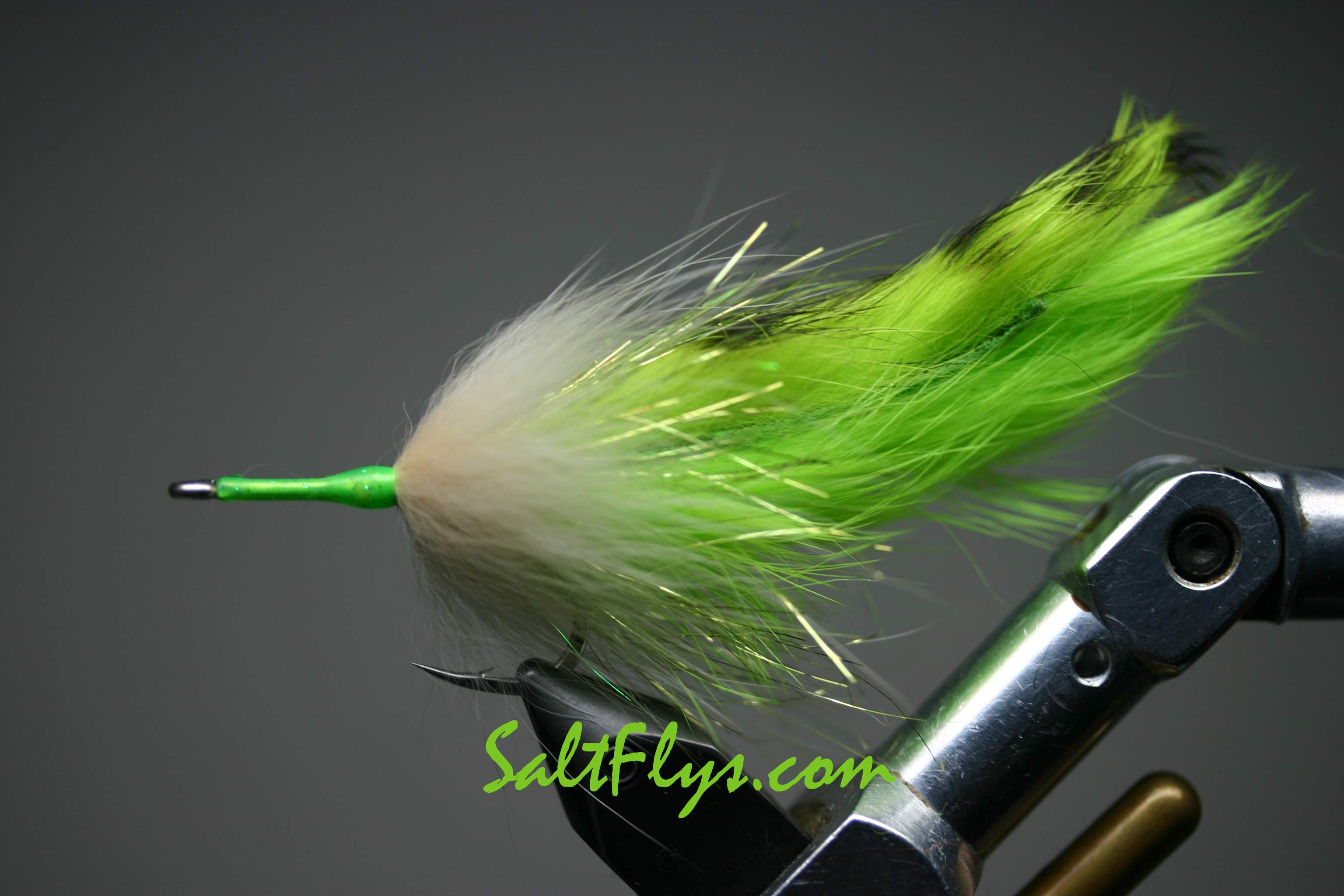 Mean Green Double Tarpon Bunny Fly
