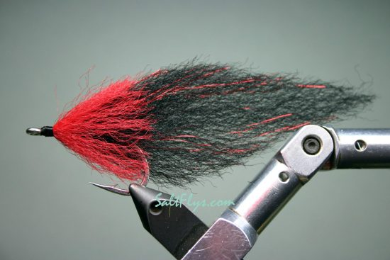 EP Fiber Black Death Tarpon Fly