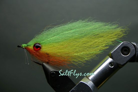 EP Fiber Fire Tiger Deceiver Fly