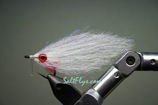 EP Fiber Super-White Deceiver Fly