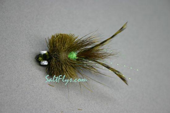 Redfish Joe Fly Olive-bottom