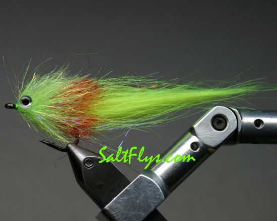 Chartreuse Flame Minnow Fly